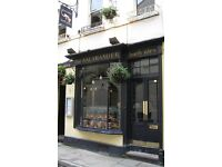Head Chef Required for Iconic Bath City Centre Restaurant The Salamander