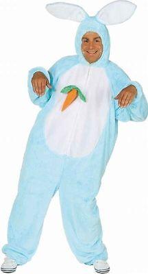 Kostüm Hase blau Hasenkostüm Erwachsene Junggesellenabschied Faschingskostüm - Erwachsene Hase