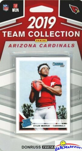Arizona Cardinals 2019 Donruss Limited Edition Complete Team