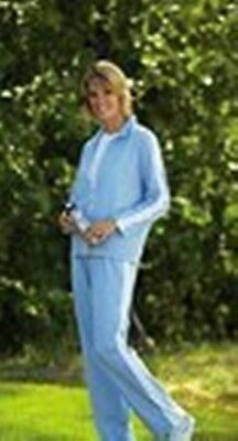 blue sweat suit 2pc keep warm for the winter holidays