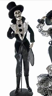 Katherine's Collection Diego Skeleton Doll Frida Love Halloween NEW 22""