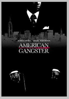 American Gangster 2007 Classic Movie Poster Art Deco Denzel Washington P5064