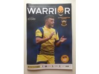 AVIV Rugby Premiership match programme Worcester Warrior vs Northampton Saints Friday 18/11/2016