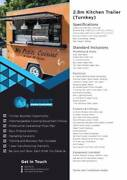 Food Trailer and Food Trucks QLD Brisbane City Brisbane North West Preview