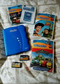 Vtech Storio Interactive E-Reading System with 4 games