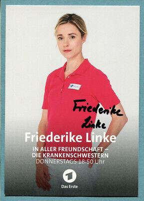 Friederike Linke IN ALLER FREUNDSCHAFT - DIE