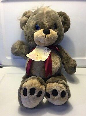 "Vintage Precious Moments 1993 21"" Charlie Teddy Bear With Tag No.1743 EC"
