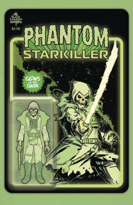 Black Caravan Comics 'Phantom Starkiller' #1 (2021) Glow In The Dark 4th Print