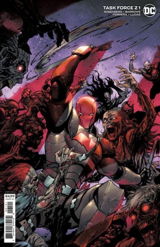 DC Comics 'Task Force Z' #1 (2021) Cardstock Variant Cover