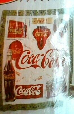 "Coca-cola 70 "" X 72"" Shower Curtain "" VINTAGE COCA-COLA "" 100% VINYL"
