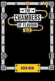 Gingerline Chambers of Flavour Immersive Dining Event, 4 tickets - Thurs 29th June, 8.30pm sitting