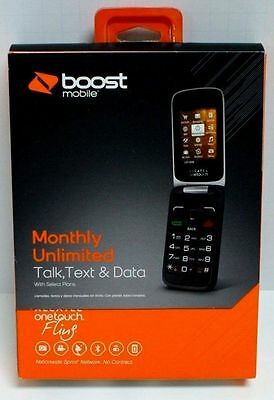 New Boost Mobile Alcatel Onetouch Fling Included Free  35 00 Unlimited Service