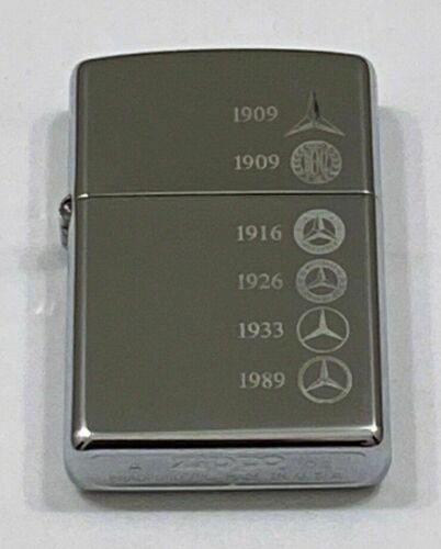 Rare 2002 Mercedes Generation Zippo Lighter