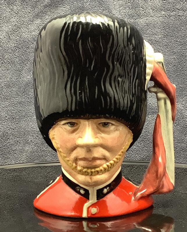 """Vintage Royal Doulton""""The Guardsman"""" Character Jug 1986"""