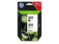URGENT - HP 302 Ink cartridge - comes with Black and Colour