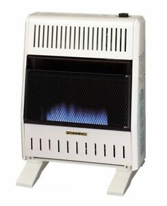 ProCom Ventless Blue Flame Heater with Base and Blower Included - 20,000 BTU