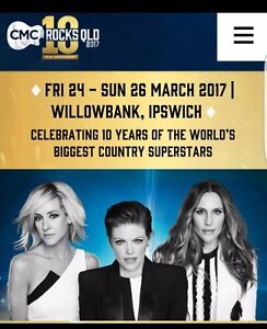 WANTING TO BUY CMC ROCKS QLD 2017 TICKET Bray Park Pine Rivers Area Preview