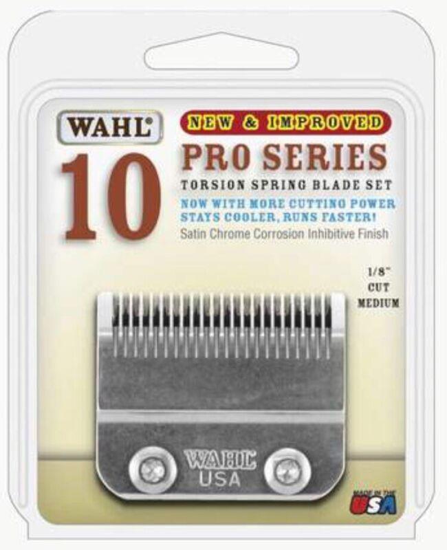 "WAHL Size 10 Pro Series Model 2097-800 Part Torsion Blade Set 1/8"" Medium Cut"