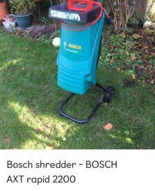 Bosch shredder