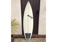 Christiaan Bradley Devil Surfboard And New Board Wax