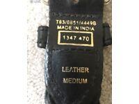 M & S black ladies medium belt. Brand new with labels