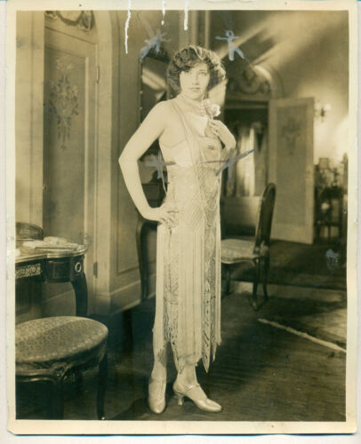 LORA SONDERSON Chickie Orig 1925 Photo Music Box Revue fame Editing Marks