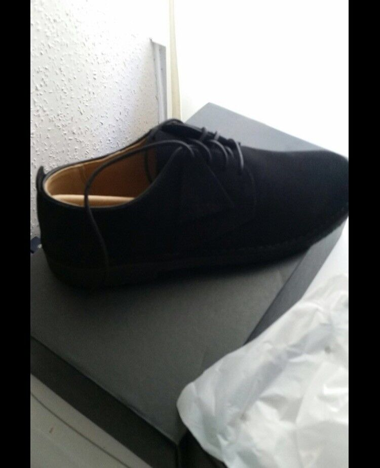 Men's brand new in box clarks suede shoes £65