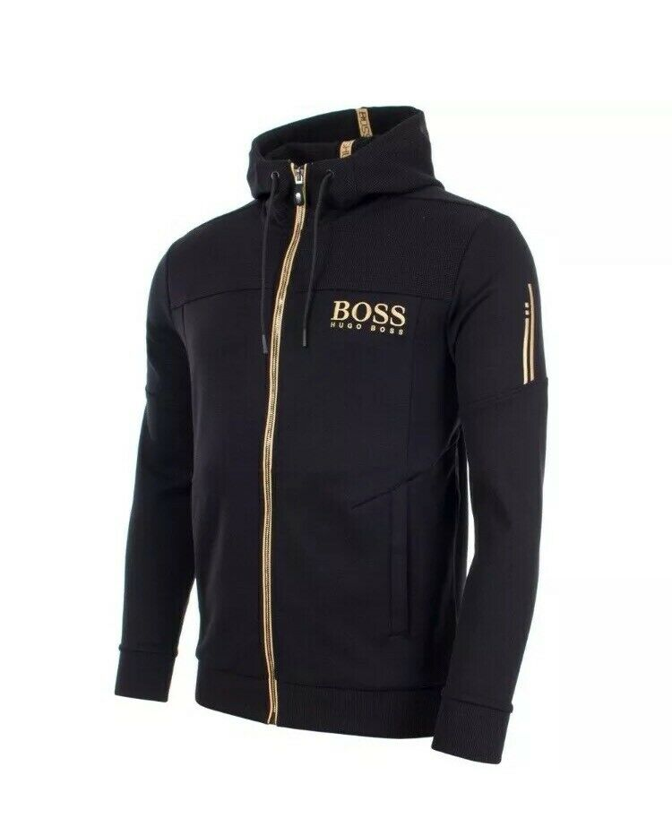 great variety styles stable quality 60% discount Hugo Boss Black/Gold Hoodie - Medium | in Hounslow, London | Gumtree