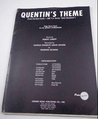 Halloween Theme Orchestra (DARK SHADOWS VAMPIRE TV QUENTINS THEME ORCHESTRA Cult Goth Barnabus Collins)
