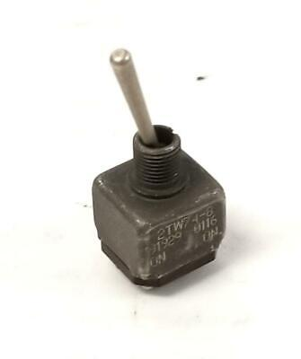 Honeywell Micro Switch 2tw74-8 Toggle Switch Onon 2 Available