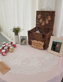 Wedding Wicker Card Box