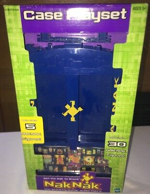 NakNak Case Playset with 5 Stackin Battle Action Figures; 2003 Hasbro NOS SEALED, used for sale  Shorewood