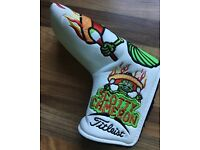 Scotty Cameron 2012 Cinco De Mayo Worm Burner Putter HeadCover Mint