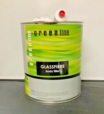 GREENLINE FIBERGLASS REINFORCED BODY FILLER (SIMILAR TO USC-24030 DURAGLASS) 0.8 Fiberglass Body Filler