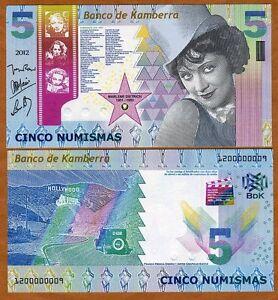 Kamberra-Kingdom-5-Numismas-2012-UNC-Marlene-Dietrich