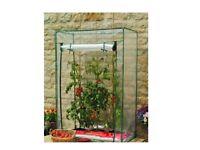 Gardening Tomato Veg Growbag Growhouse Mini Garden Greenhouse with PVC Cover UK