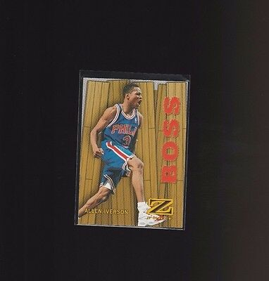 1997-98 Z-Force Boss #8/B Allen Iverson Philadelphia 76ers