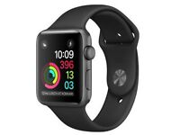 Apple Watch Series 1 38mm - Smart Watch with Heart Rate Monitor - Black/Sport Band Brand new