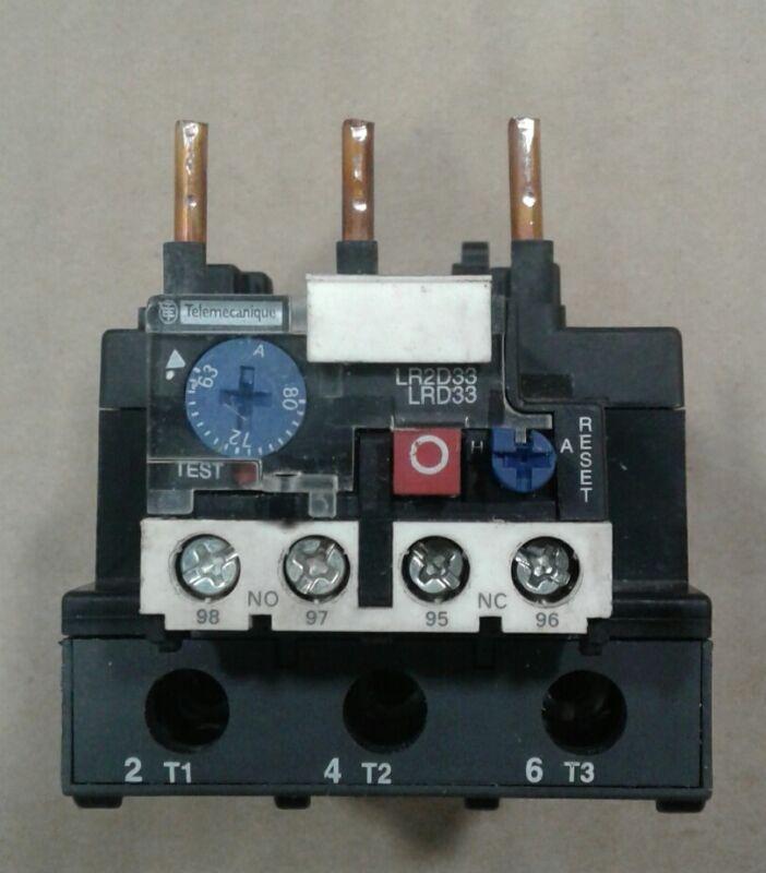 Schneider Electric Telemecanique LRD3363 LR2D3363 Overload Relay #016D14