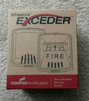 New Cooper 127380 Str Wheelock Exceder Strobe Red Free Shipping