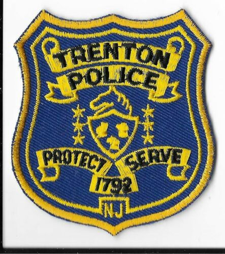 Trenton Police Department, New Jersey Breast Patch