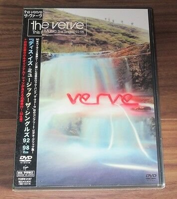 Sealed PROMO! The Verve JAPAN DVD obi RICHARD ASHCROFT more in stock!