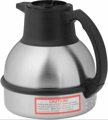 Bunn 64oz Coffee Thermal Coffee Carafe 1.9 Liter Black Lid 36029.0001