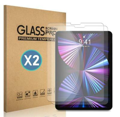2-Pack For iPad Air 4 (2020) 10.9''/4th Gen HD Tempered Glass Screen Protector