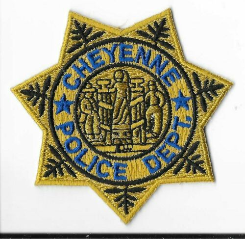 Cheyenne Police Department, Wyoming Breast Patch