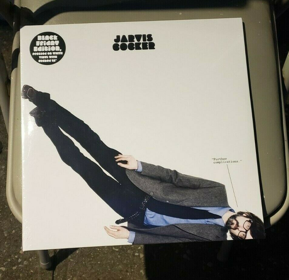 JARVIS COCKER Further Complications RSD BLACK FRIDAY LTD LP White Vinyl SEALED - $24.00