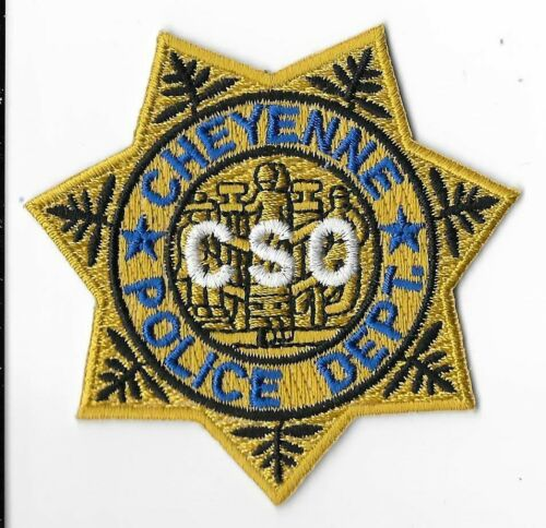 Cheyenne Police Department, Wyoming CSO Breast Patch