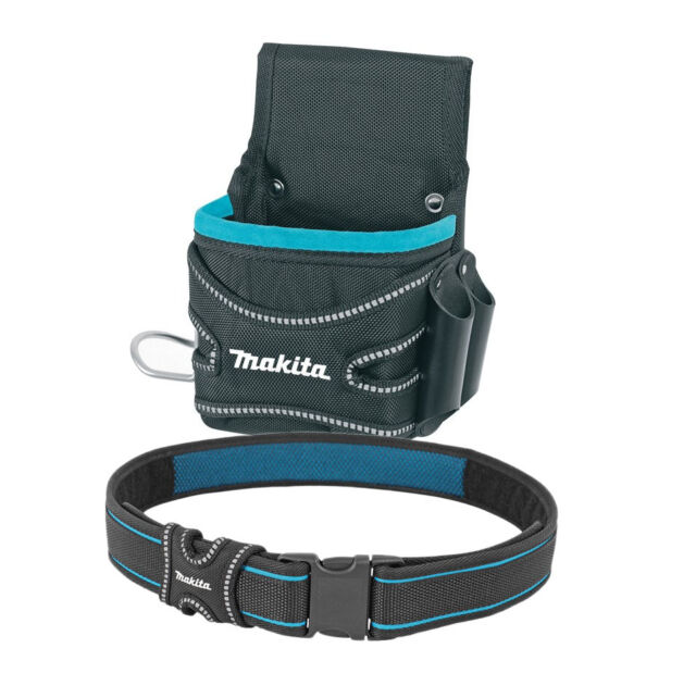 Makita P-71906 Fixings Pouch & Hammer Holder + P-71825 Quick Release Belt
