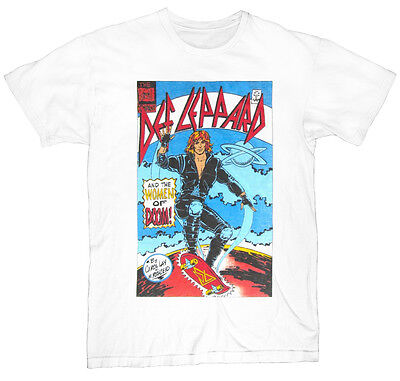 Def Leppard Women Of Doom Mens White Rock T Shirt  NEW  S M L XL 2XL 3XL 4XL 5XL