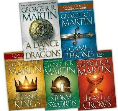 A Song of Ice and Fire (5 book set) (E-B0K&AUDI0B00K|ZIPPED)